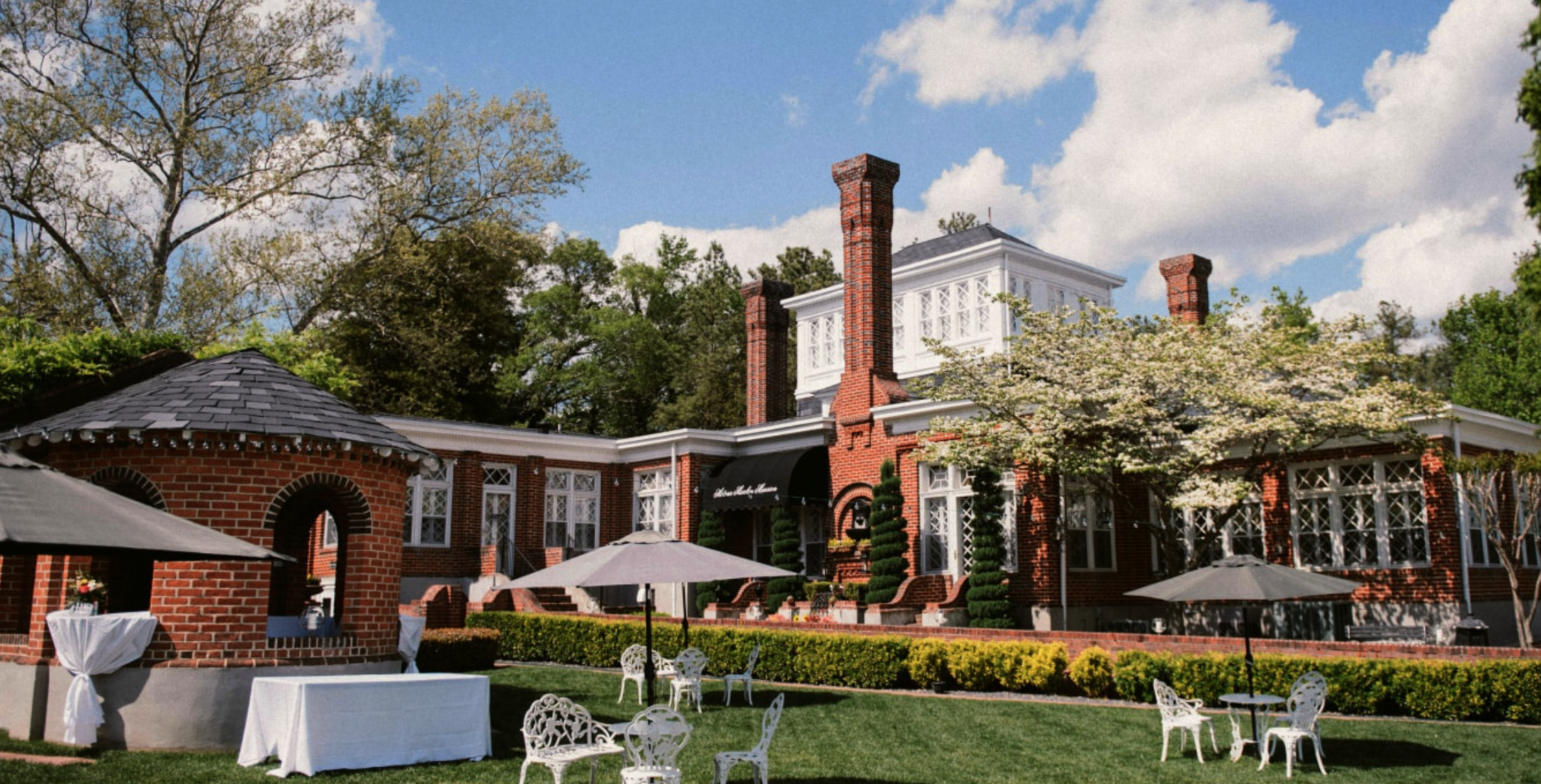 silver bullets performs wedding entertainment at mankin mansion with wedding dj