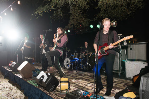 silver bullets performs at tuckahoe plantation wedding entertainment